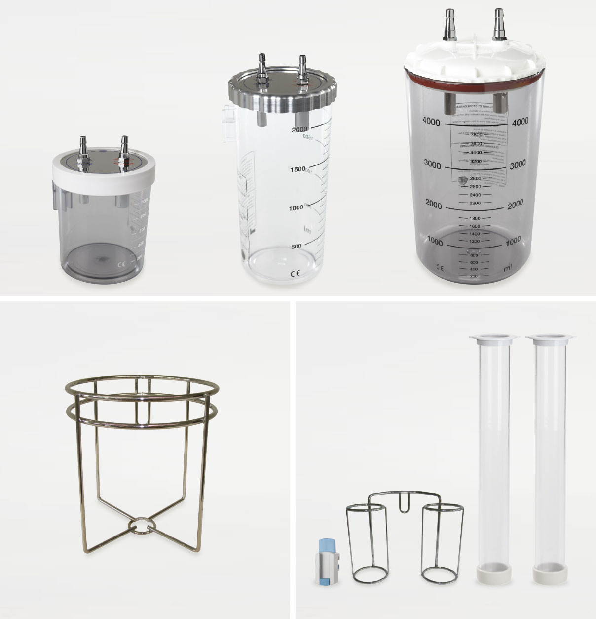 Suction Containers | Quiver Sets | Brackets