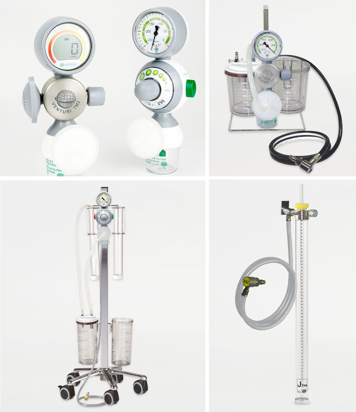 Pneumatic Suction Devices